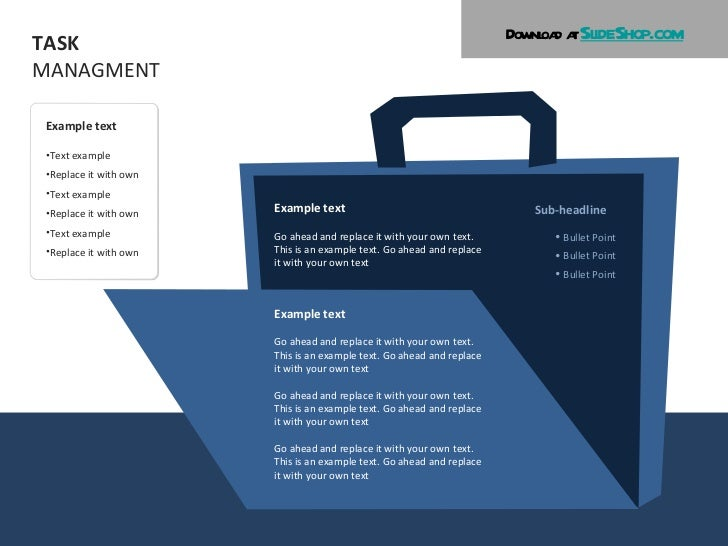 Task management illustrations