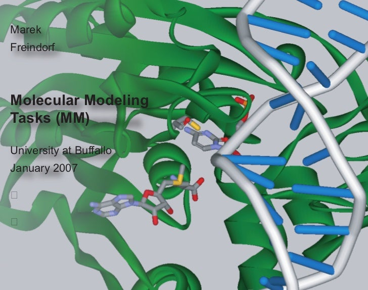 Molecular Modeling Tasks