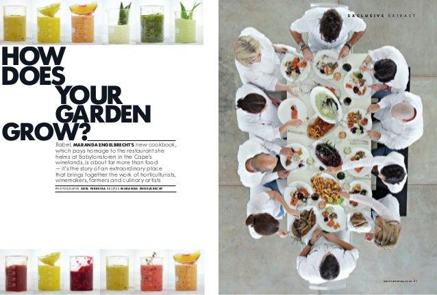 Babylonstoren Taste article1