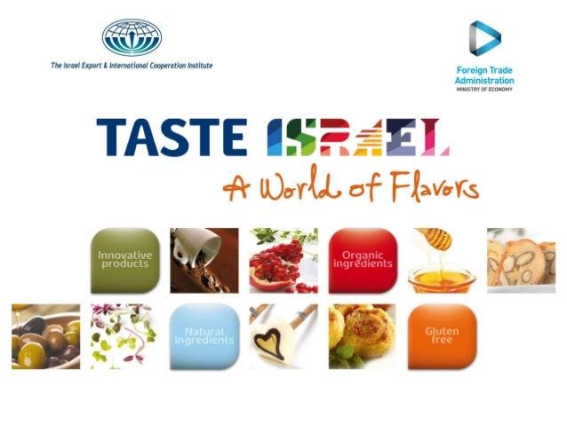 Taste israel Sial 2014