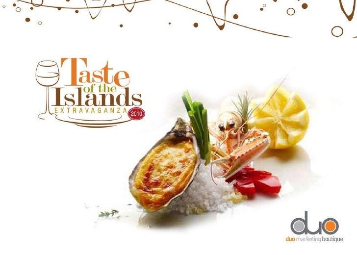 Taste of the Islands 2010 - W Vieques - Chef José Santaella