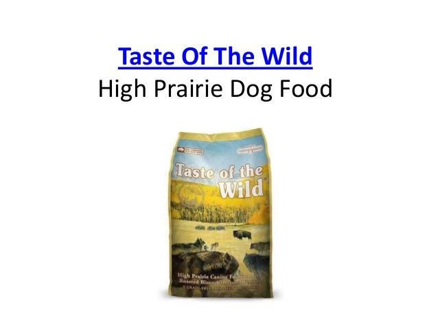 Wild High Prairie Dog Food