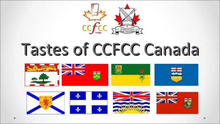 Tastes of CCFCC Canada