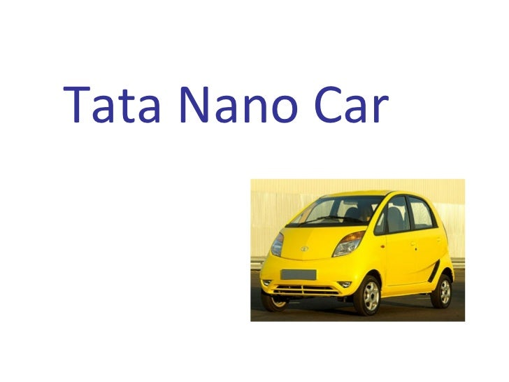 etop analysis tata nano car