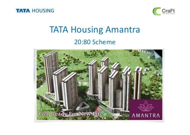 TATA Housing Amantra20:80 Scheme