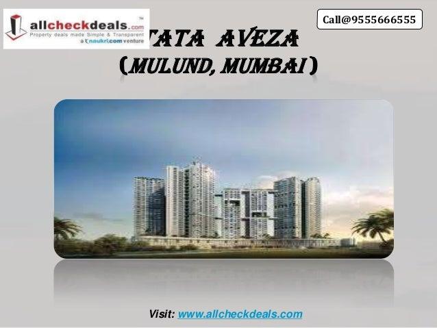 Tata AvezaMulund, MumbaiVisit: www.allcheckdeals.comCall@9555666555