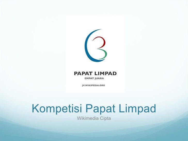 Kompetisi Papat Limpad Wikimedia Cipta