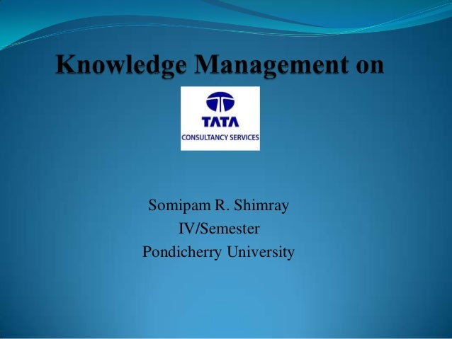 """hr practices in tcs Project report on hr practices in tata consultancy services guided by: submitted by titiksha patidar(hrf058) acknowledgement this is to acknowledge the quality help that was provided by the institute-itm and the related faculty in successfully completing the hrss project on """"hr practices in tcs."""