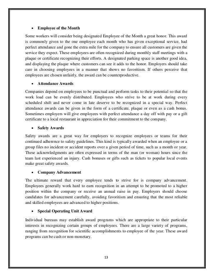 Sample Award Nomination Letter Letter Of Recommendation Sample