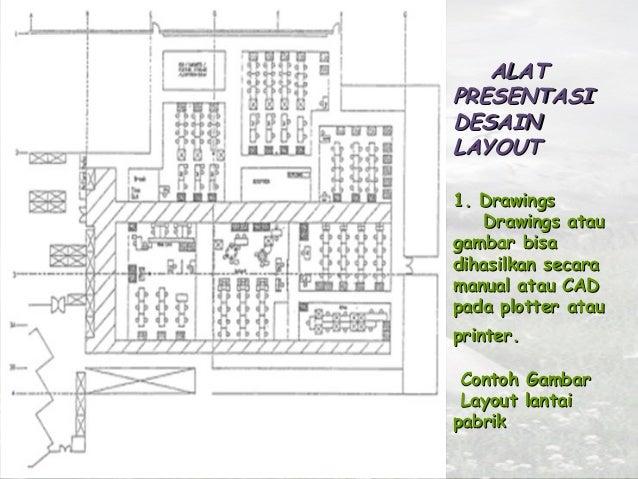 Contoh Layout Proses Contoh Gambar Layout Lantai