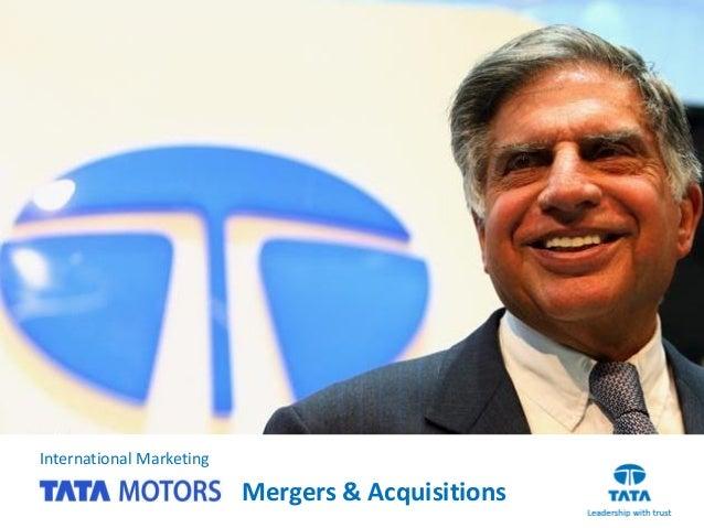 International Marketing Mergers & Acquisitions