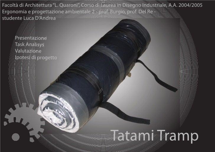 Tatami Analisi Ergonomica
