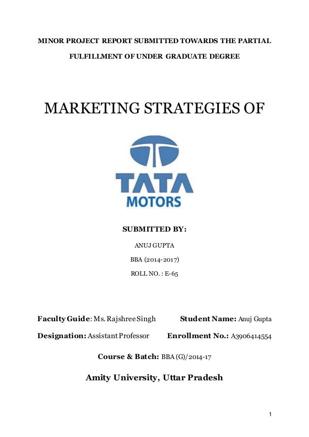 pricing strategy used by tata motors 4) tata motors ltd 5) reva  sales promotion strategies adopted by car  manufacturers  tata motors' nano: tata motors introduced its nano and offer  price.