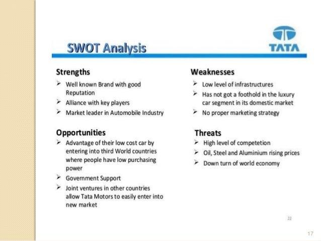 ratio analysis of tata motors