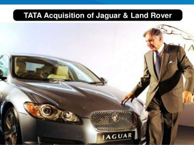 INTRODUCTION  India based TataMotors acquired the ownership of luxury brands - Jaguar and Land Rover on June 2, 2008  Th...
