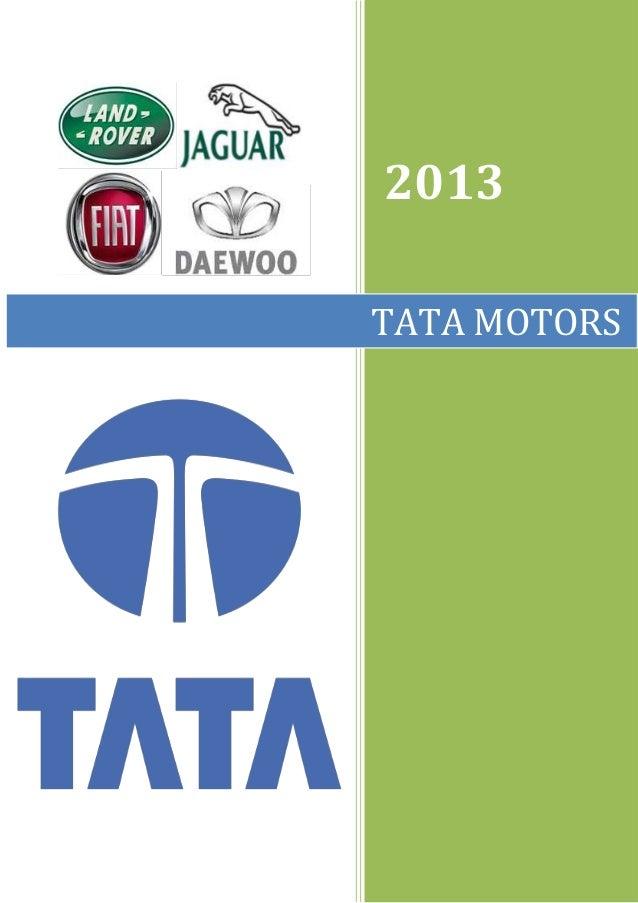 Tata motors rev  2