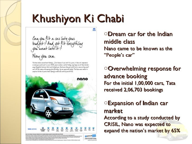 nano car research papers The tata nano: the people's car widely touted as the cheapest car in the world, the nano was scheduled to be research paper series conference papers partners.