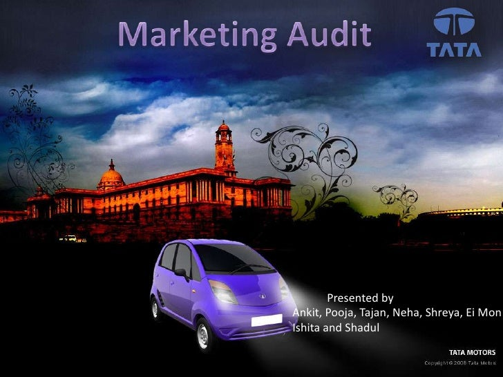 ppt on marketing strategy of tata nano The marketing mix of tata nano shows the ingenious work done by tata to  launch a product meant for its national market and for the well being.