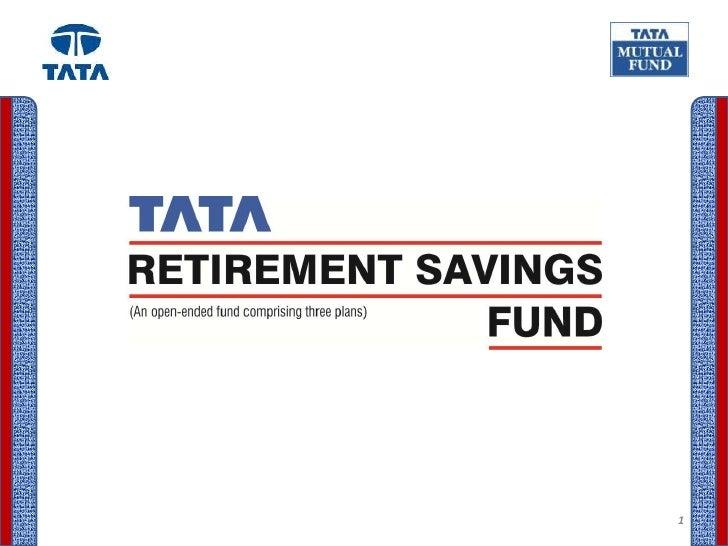 Tata retirement   presentation