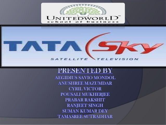 Presentation on Marketing Mix On TATA SKY