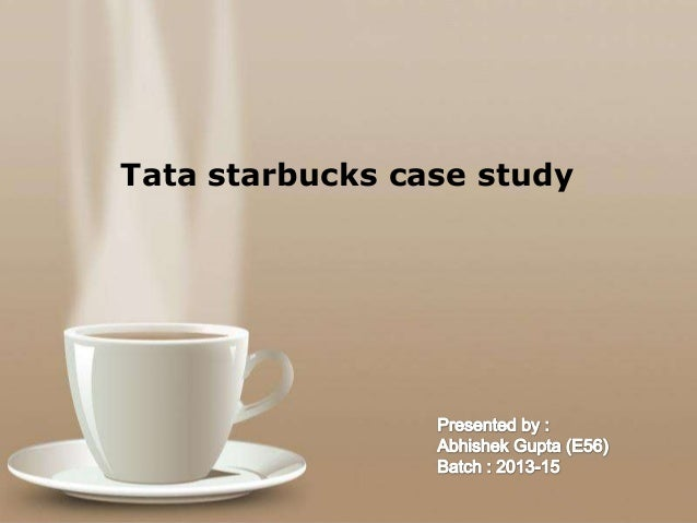 starbucks casestudy View notes - starbucks case study from mgmt 3010 at tulane executive summary howard shultzs leadership has caused starbucks to become the most successful coffee company in the world.