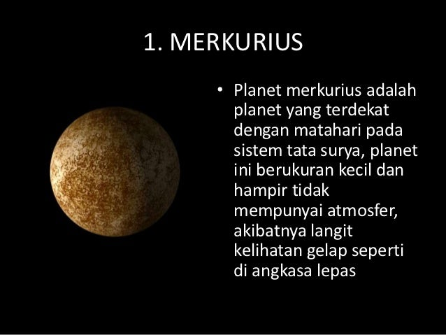 Sistem Tata Surya Planet