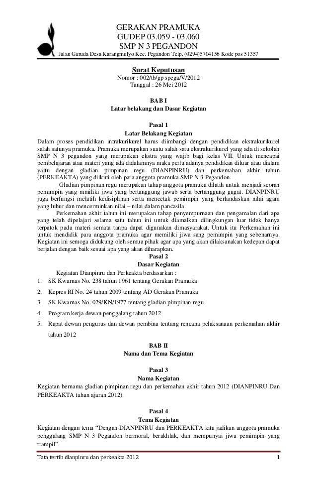 GERAKAN PRAMUKA                               GUDEP 03.059 - 03.060                               SMP N 3 PEGANDON        ...