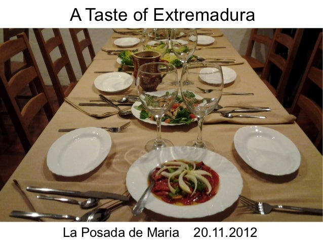 Tastes of Extremadura