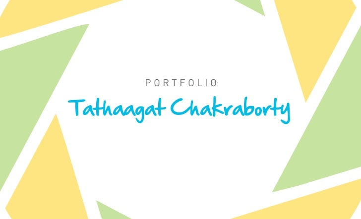 PortfolioTathaagat Chakraborty