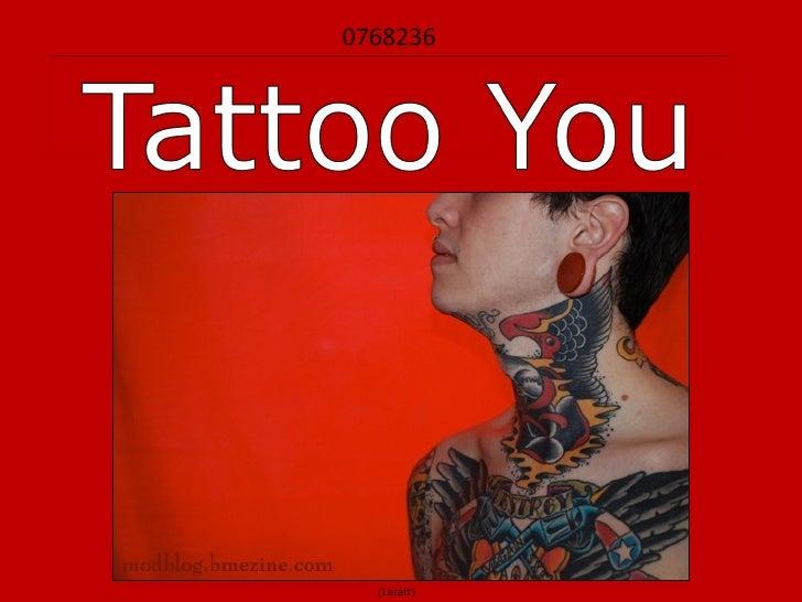 0768236 - Tattoo You