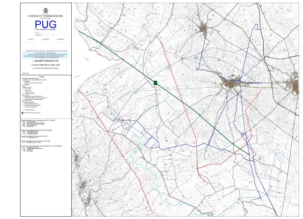 PUG- Infrastrutture sovralocali