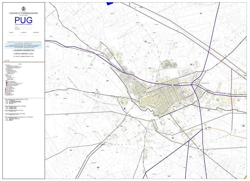 PUG- Infrastrutture a livello urbano