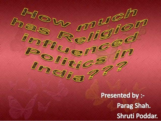 Religion in politics in india essay
