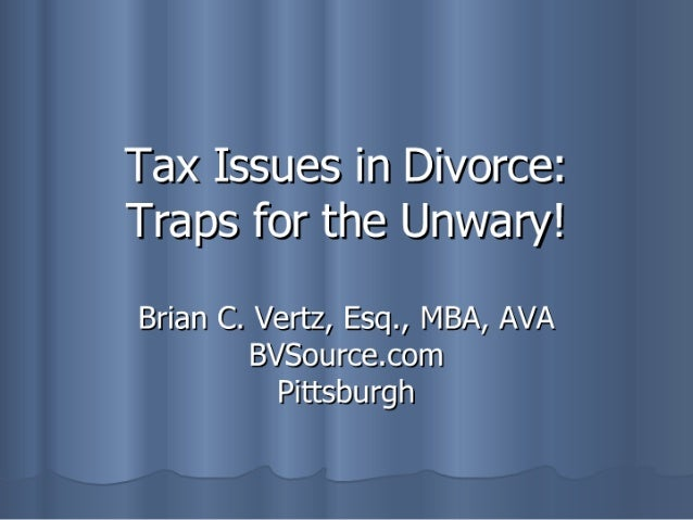 Tax Issues 2007