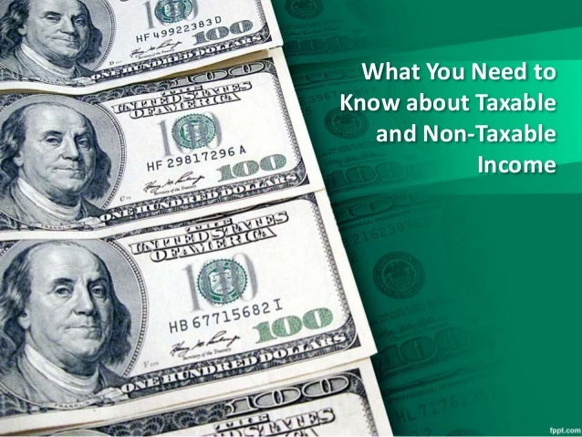 taxable and non taxable essay This article will describe a few of the more common categories of nontaxable income  irs publication 525: taxable and nontaxable income, describes these exceptions 5.