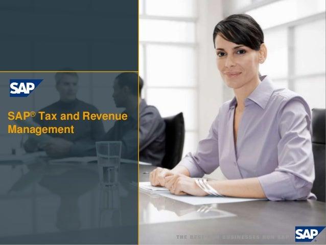 SAP® Tax and Revenue Management