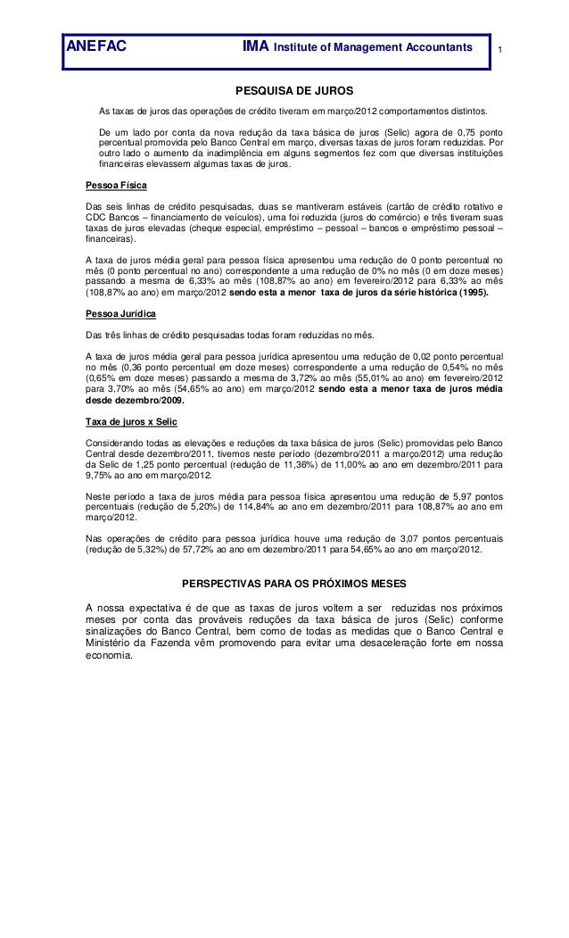 ANEFAC                               IMA Institute of Management Accountants                     1                        ...