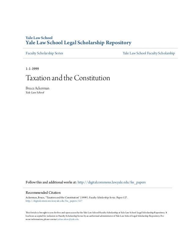 Yale Law SchoolYale Law School Legal Scholarship RepositoryFaculty Scholarship Series                                     ...