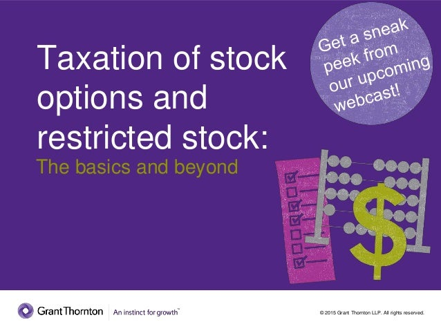 What are stock options basics