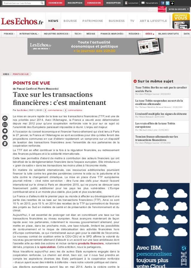 Recherchez sur Les Echos  CONNEXION  INSCRIPTION  CONNEXION  INSCRIPTION  Le journal  Newsletters Ecoutez en direct  NEWS ...