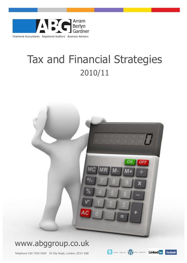 Tax & Financial Strategies 2010 11