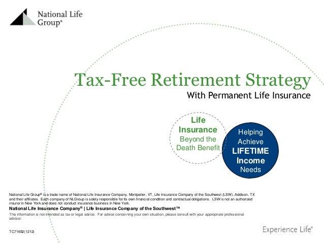National Life Insurance Company® | Life Insurance Company of the Southwest™ National Life Group® is a trade name of Nation...
