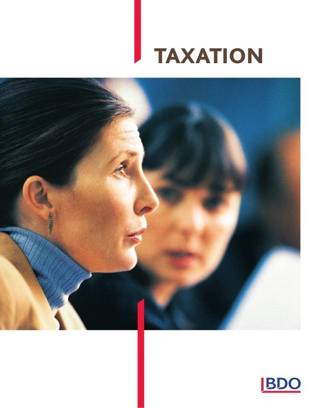 BDO Tax Services