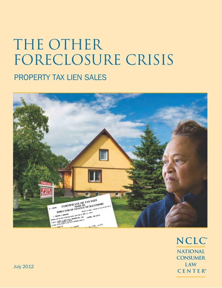 The OtherForeclosure CrisisProperty Tax Lien Sales                          NCLC®                          NATIONAL       ...