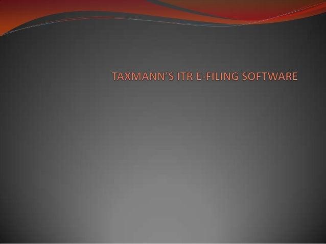 Taxmann's itr e filing software mod ATUL VERMA & RAHUL SINGH