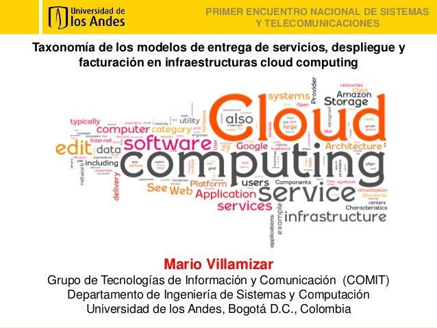 Taxonomía de los modelos de entrega de servicios, despliegue y facturación en infraestructuras cloud computing