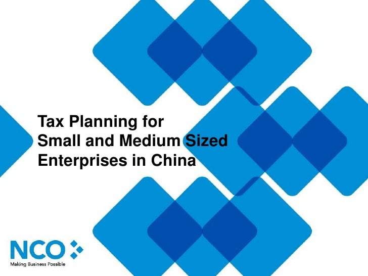Tax Planning in China - Individual Income Tax