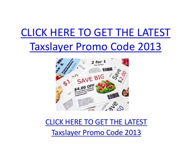 TaxSlayer rarely offers promo codes. On average, TaxSlayer offers 0 codes or coupons per month. Check this page often, or follow TaxSlayer (hit the follow button up top) to keep updated on their latest discount codes. Check for TaxSlayer's promo code exclusions. TaxSlayer promo codes sometimes have exceptions on certain categories or brands/5(21).