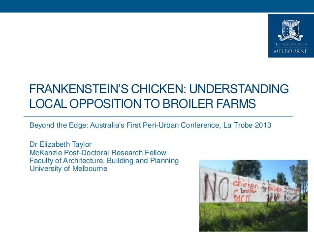 Taylor_E_Frankenstein's chicken: Understanding local opposition to industrial broiler farms