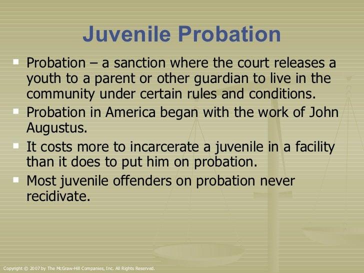 juvenile probation